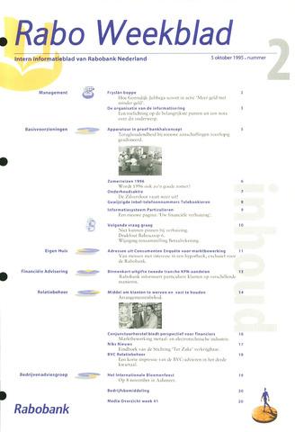 Rabo Weekblad 1995-10-05