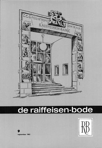 blad 'De Raiffeisen-bode' (CCRB) 1963-09-01