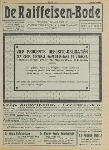 blad 'De Raiffeisen-bode' (CCRB) 1917-01-01