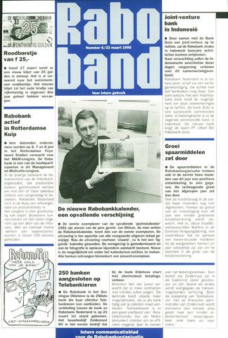 blad 'Raboband' 1990-03-23