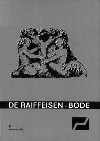 blad 'De Raiffeisen-bode' (CCRB) 1965-09-01