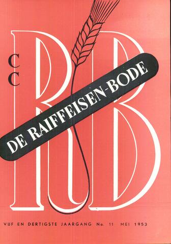 blad 'De Raiffeisen-bode' (CCRB) 1953-05-01