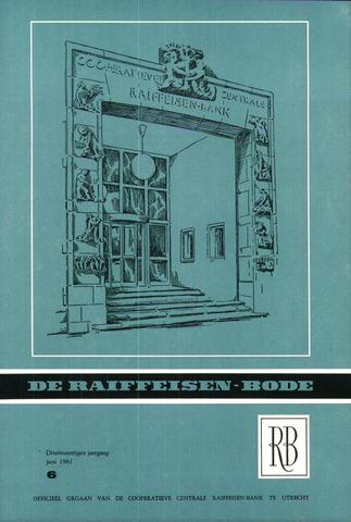 blad 'De Raiffeisen-bode' (CCRB) 1961-06-01