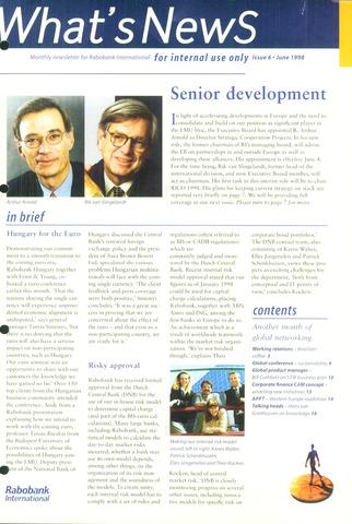 blad 'What's news' (EN) 1998-06-01