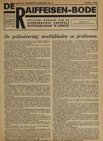 blad 'De Raiffeisen-bode' (CCRB) 1945-11-08