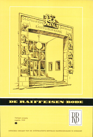 blad 'De Raiffeisen-bode' (CCRB) 1958-08-01