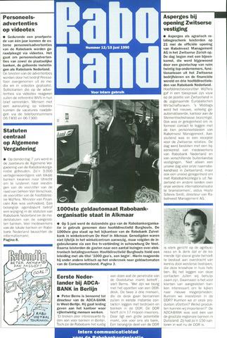 blad 'Raboband' 1990-06-15