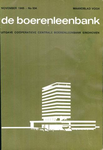 blad 'de boerenleenbank' (CCB) 1965-11-01