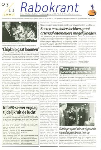 Rabokrant 1997-11-05