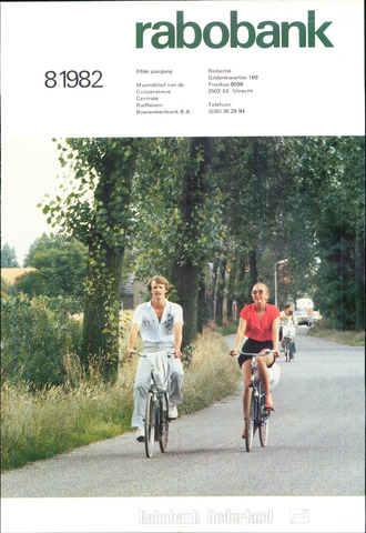 blad 'Rabobank' 1982-08-01