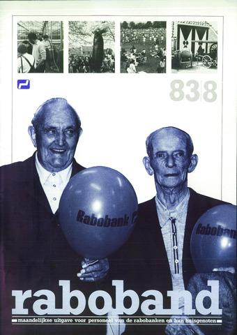 blad 'Raboband' 1983-08-01