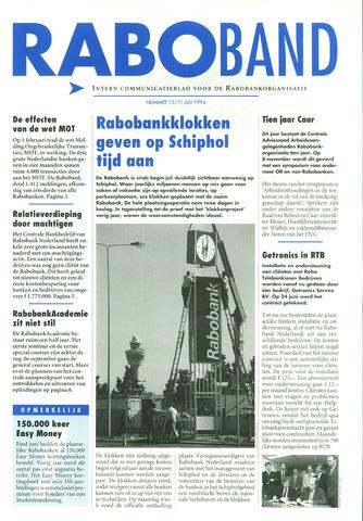 blad 'Raboband' 1994-07-11