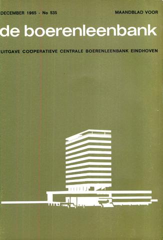 blad 'de boerenleenbank' (CCB) 1965-12-01
