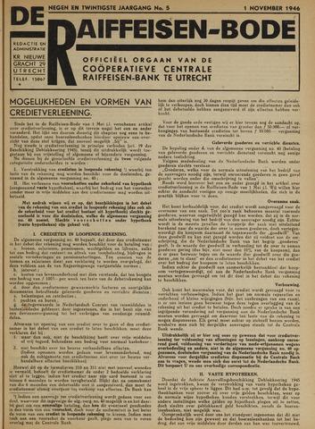 blad 'De Raiffeisen-bode' (CCRB) 1946-11-01