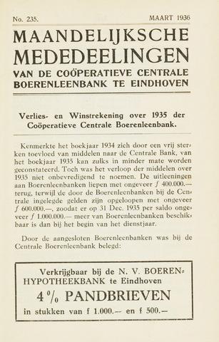 blad 'Maandelijkse Mededelingen' (CCB) 1936-03-01
