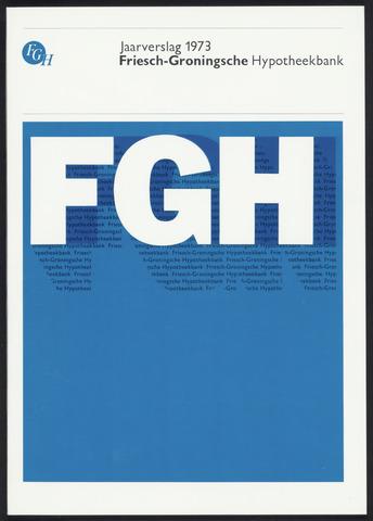 Jaarverslagen Friesch-Groningsche Hypotheekbank / FGH Bank 1973