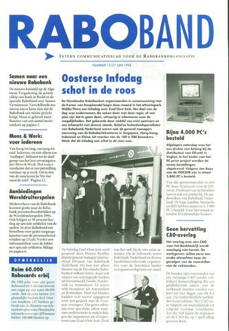 blad 'Raboband' 1994-06-27
