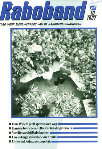 blad 'Raboband' 1987-07-22