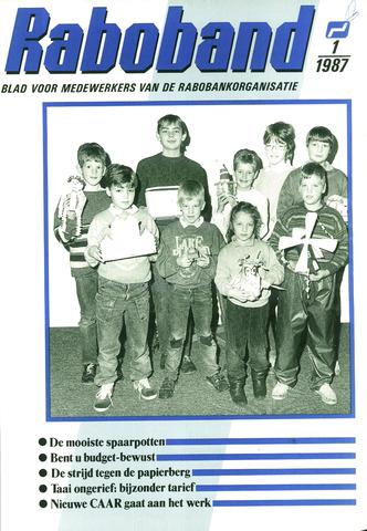 blad 'Raboband' 1987