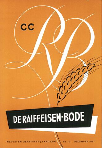 blad 'De Raiffeisen-bode' (CCRB) 1957-12-01