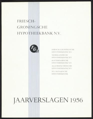 Jaarverslagen Friesch-Groningsche Hypotheekbank / FGH Bank 1956