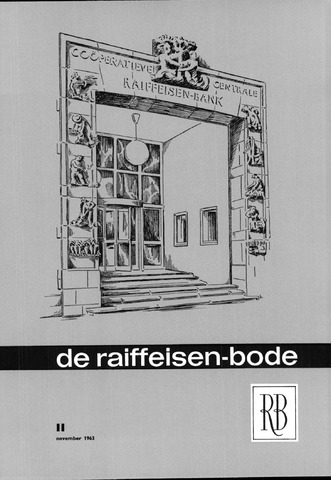 blad 'De Raiffeisen-bode' (CCRB) 1963-11-01