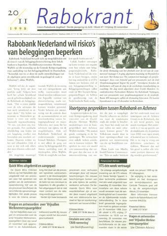 Rabokrant 1998-11-20