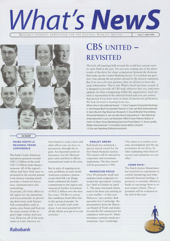 blad 'What's news' (EN) 1995-04-01