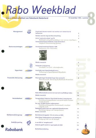 Rabo Weekblad 1995-11-16