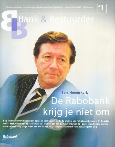 blad 'Bank & Bestuurder' 2003-01-01