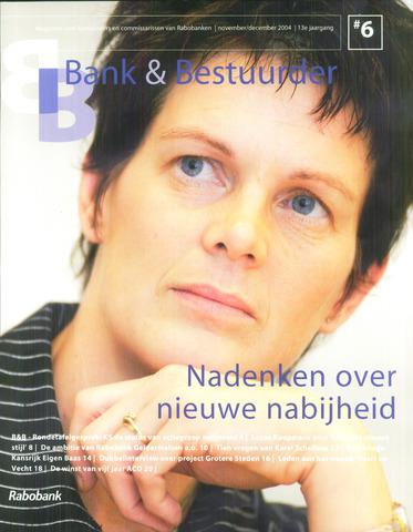 blad 'Bank & Bestuurder' 2004-11-01