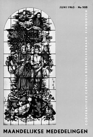 blad 'Maandelijkse Mededelingen' (CCB) 1963-06-01