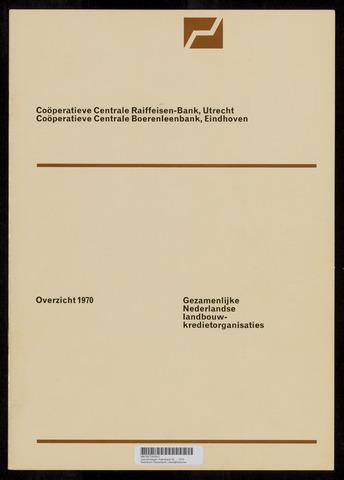Jaarverslagen Rabobank 1970-12-31