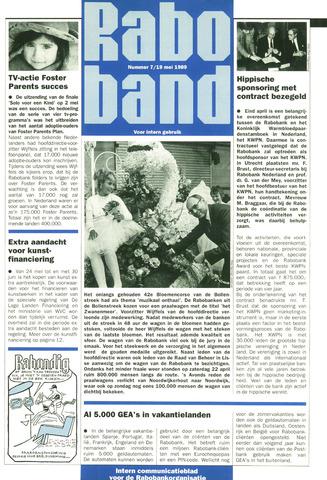 blad 'Raboband' 1989-05-19