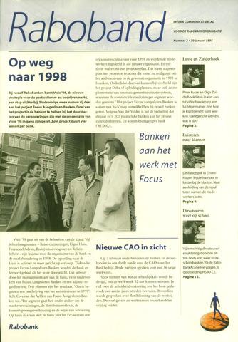 blad 'Raboband' 1995-01-30