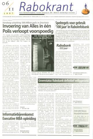Rabokrant 1997-11-06