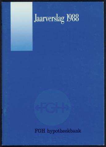Jaarverslagen Friesch-Groningsche Hypotheekbank / FGH Bank 1988