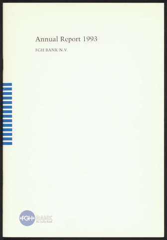 Annual Reports FGH Bank 1993-01-01