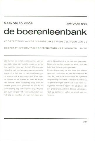 blad 'de boerenleenbank' (CCB) 1965-01-01