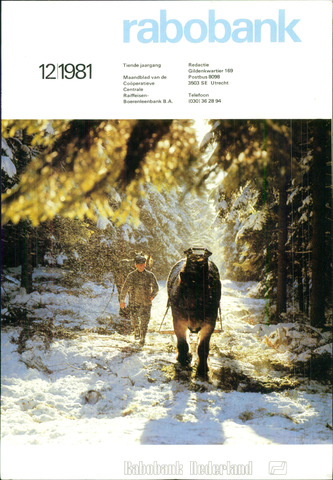 blad 'Rabobank' 1981-12-01