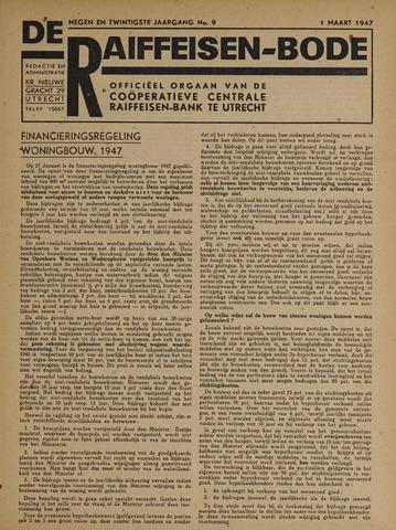 blad 'De Raiffeisen-bode' (CCRB) 1947-03-01