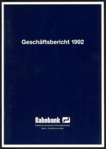 Geschäftsberichte Allgemeine Deutsche Credit-Anstalt / ADCA Bank 1992-01-01