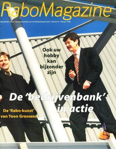 blad 'RaboMagazine' 1998-02-01