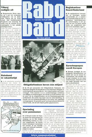 blad 'Raboband' 1990-07-06