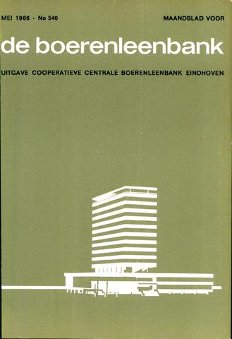 blad 'de boerenleenbank' (CCB) 1966-05-01