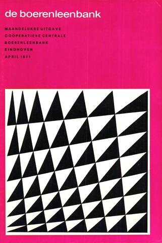 blad 'de boerenleenbank' (CCB) 1971-04-01