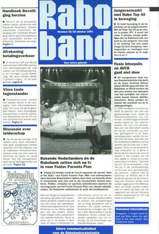 blad 'Raboband' 1993-10-18