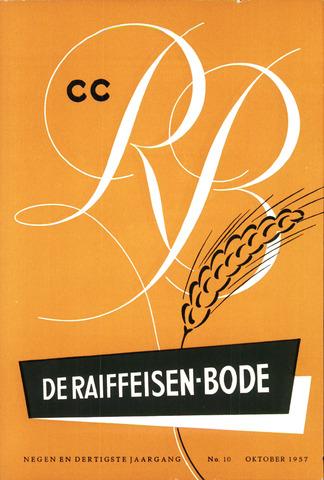 blad 'De Raiffeisen-bode' (CCRB) 1957-10-01