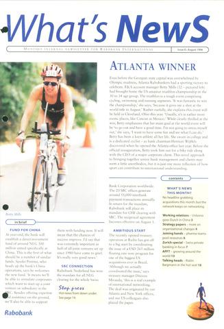 blad 'What's news' (EN) 1996-08-01