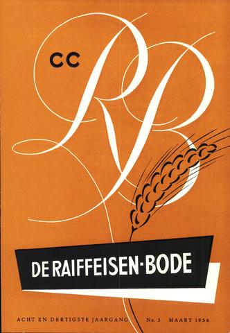 blad 'De Raiffeisen-bode' (CCRB) 1956-03-01